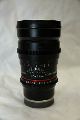 AU350 • Buy Rokinon F/1.5 35mm CINE Lens - SONY E Mounted Lens (Excellent Condition)