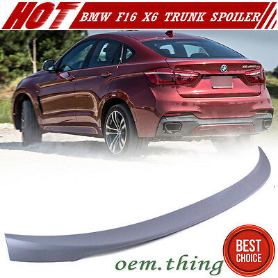 AU107.42 • Buy 2016-2019 Fit FOR BMW F16 F86 X6 2nd Trunk Spoiler Sport P Style - Primer