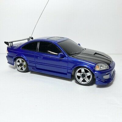 £100.68 • Buy Xmods RARE BLUE Honda Civic Tested With Body Kit RC Car Generation 1 - READ DISC