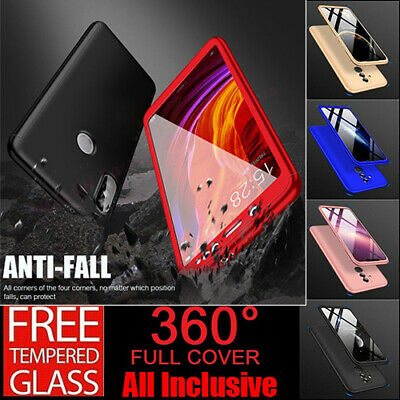 AU9.05 • Buy Hot 360° Full Body Protective Case For Oppo A93 A53 A52 A92S A32 A53S 2020 Cover