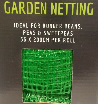 £3.90 • Buy Pea & Bean Netting - 66cm By 200cms - Strong, Durable Material.