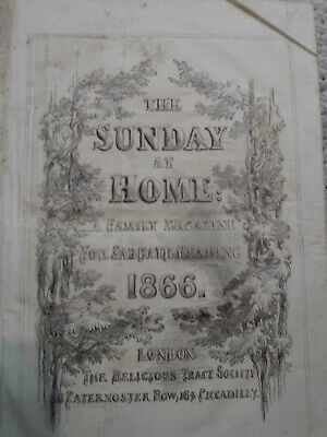 The Sunday At Home 1866 • 11£