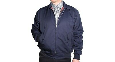 £19.99 • Buy RELCO NAVY HARRINGTON JACKET WITH RED TARTAN LINING Size: M