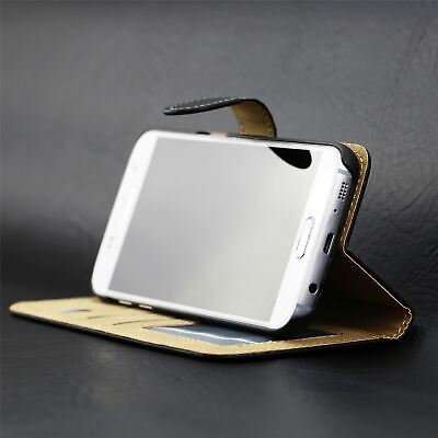 $ CDN5.70 • Buy Leather Flip Case Wallet Cover For Samsung Galaxy S8 Plus