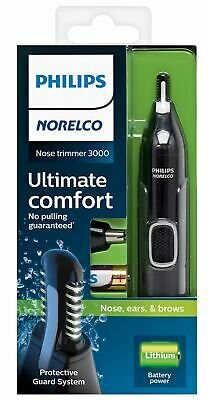 AU28.99 • Buy Philips Norelco Nose Ear Eyebrow Hair Shaver Trimmer 3000 NEW FREE SHIPPING