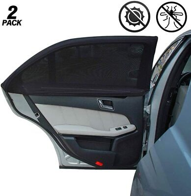 £5.69 • Buy 2Pcs Car Sun Shade Cover Blind Mesh Max UV Protection For Rear Front Window Kids