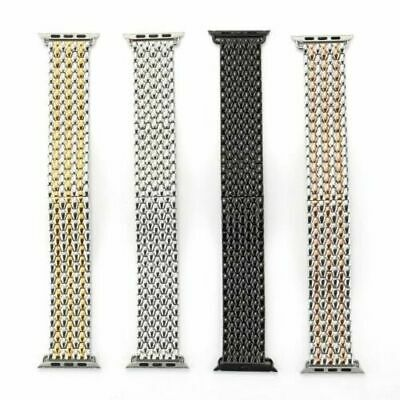 AU16.99 • Buy Solid Stainless Steel IWatch Metal Strap Band For Apple Watch 5 4 3 2 1 38-44mm