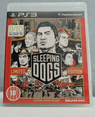 £4.99 • Buy Sleeping Dogs Limited Edition PS3 Playstation 3 (L)