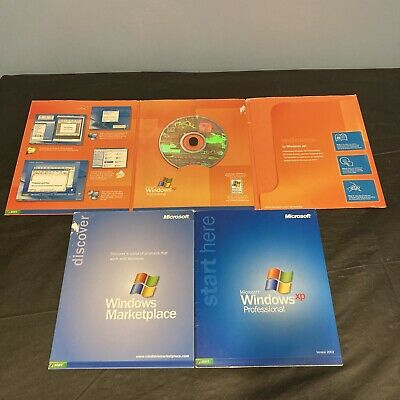 $ CDN48.36 • Buy Microsoft Windows XP Professional SP2 Upgrade Full Retail Ver 2002 W/Product Key