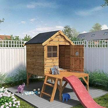 £422.99 • Buy Childrens Garden Playhouse Shed With Slide