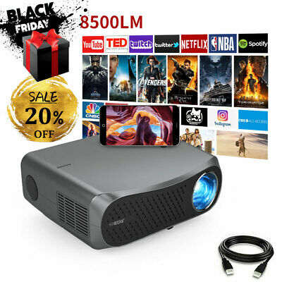 £454.90 • Buy 10000:1 Android Projector Native 1080p 5G WiFi Home Cinema 4K Support BT HDMI UK