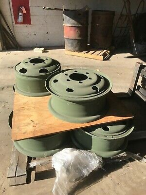$95 • Buy Military Wheel For 9.00-20 9.00x20 NDT NDCC Tire, 7.5-20, 6 Hole Budd. Unused