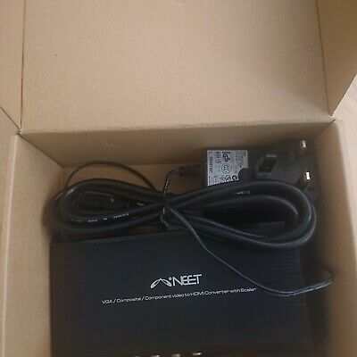 £34.95 • Buy Neet N53 VGA/Composite/Component To HDMI Converter