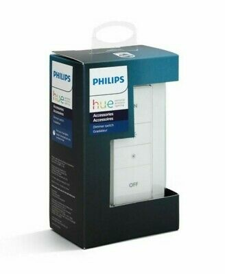 AU35.76 • Buy Philips 473371 Hue Smart Dimmer Switch Exclusively For Hue Smart Bulbs-White