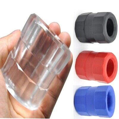 £7.21 • Buy Squeeze Soft Grip Male Chastity Scrotum Rings Delay Flex TPR Ball Stretcher