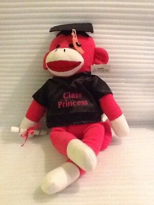 $ CDN23.77 • Buy Dan Dee Graduation Class Princess 19  Sock Monkey Plush Stuffed Animal