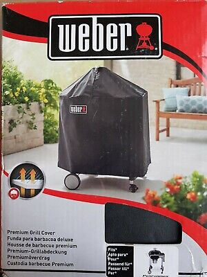 $ CDN138.49 • Buy WEBER 7145 BARBECUE / GRILL COVER In Black BRAND NEW