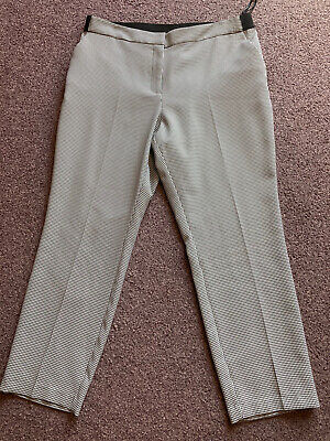 £5.50 • Buy Ladies Dogtooth/ Check Trousers, Primark Size 18.