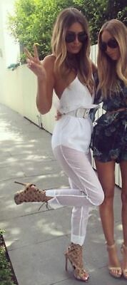 AU145 • Buy ALICE MCCALL  Justify My Love  White Playsuit Jumpsuit 8