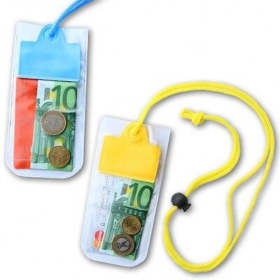 £3.49 • Buy Waterproof Pouch Neck Wallet String Pool Money Pouches Safe Dry Holidays