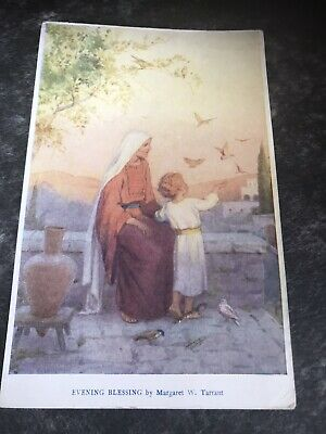 £1 • Buy Evening Blessing By Margaret W Tarrant. Vintage Postcard  Card Has Small Scratch