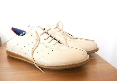 NWOB Camel Active 'Miami' Men's Cream Bowling Shoes Size 10      • 40£