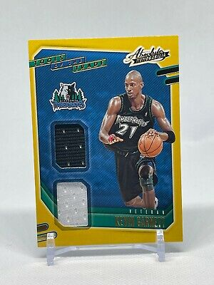 AU25.75 • Buy 2020-21 Absolute Memorabilia Kevin Garnett Tools Of The Trade Dual Patch #VT-KEV