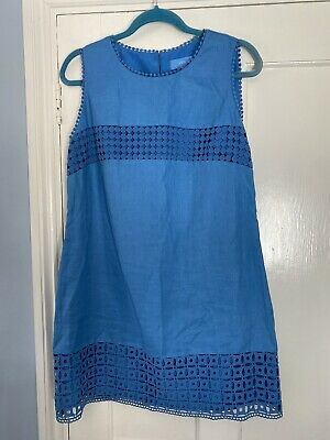 AU6.62 • Buy Ladies Next Linen Dress Size 14
