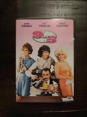 AU5.10 • Buy PREVIOUSLY VIEWED DVD MOVIE -  9 TO 5  - Starring Dolly Parton, Jane Fonda ~