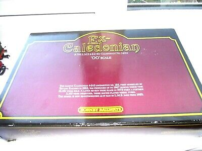 OO Gauge Hornby LMS Ex Caledonian 4-2-2 Locomotive In Presentation Box • 55£