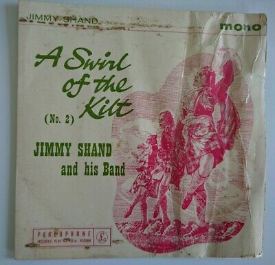 £4 • Buy Jimmy Shand And His Band A Swirl Of The Kilt No. 2  45 RPM EP Single GEP 8828