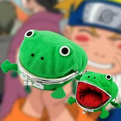 £6.45 • Buy Naruto Anime Gama Chan Frog Cosplay Wallet Coin Purse UK STOCK FAST FREE DELIVER