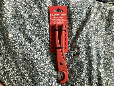 £15 • Buy Pipe Cutter Rothenberger MGA-37 Plastic Pipe Cutter Genuine