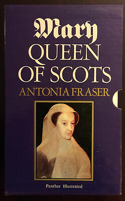 Vintage 'Mary Queen Of Scots' By Antonia Fraser Paperback With Hardback Sleeve. • 1.40£