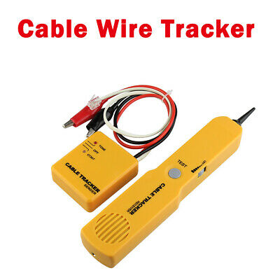 Cable Finder Tone Generator Probe Tracker Wire Network Tester Tracer Kit • 15.81£
