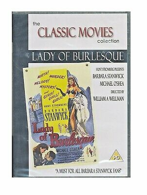 £3.97 • Buy Lady Of Burlesque DVD - NEW/SEALED Barbara Stanwyck