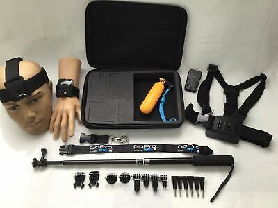 AU49.95 • Buy Basic Mount Accessories Pack For Gopro & Most Other Action Cameras AU Stock
