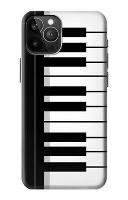 £9.99 • Buy S3078 Black And White Piano Keyboard Case For IPHONE Samsung Smartphone ETC