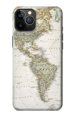£20.99 • Buy S0604 World Map Case For IPHONE Samsung Smartphone ETC