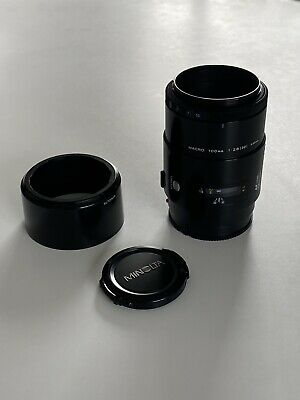 AU178.91 • Buy Minolta Macro Lens AF 100mm F2.8 For Sony A Mount Very Good Condition