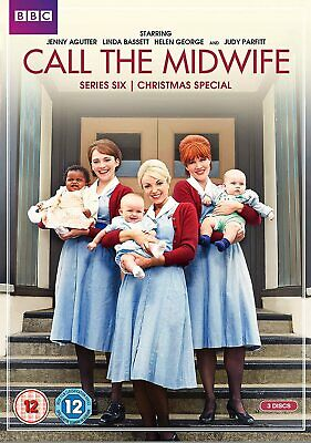 Call The Midwife - Complete Series 6 + Christmas (3 Disc Dvd Set) New Sealed • 8.95£
