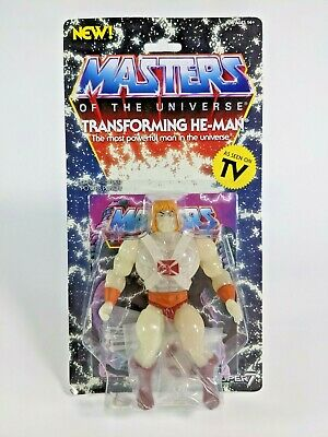 $39.99 • Buy MOTU Masters Of The Universe Transforming He-Man GITD MOC Super 7 2019