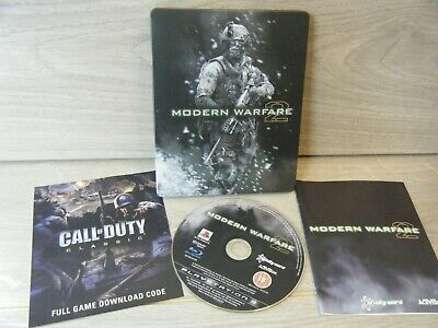 Call Of Duty Modern Warfare 2 Steelbook Playstation 3 Game With Manual • 6£