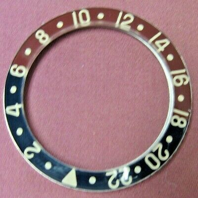 $ CDN695.72 • Buy Rolex GMT-Master 6542 Bezel No Guard, Piolets, New Condition Replacement Plastic