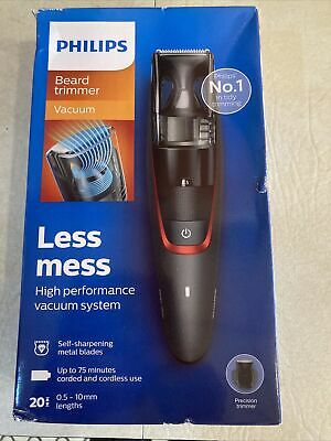 AU51.90 • Buy Philips Series 7000 Beard And Stubble Less Mess Vacuum Trimmer - BT7500/13 New