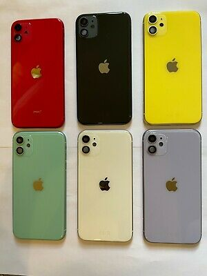£35 • Buy For IPhone 11 Metal Frame Back Chassis Housing Rear Glass Cover Replacement