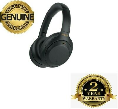 AU334.33 • Buy Sony WH-1000XM4 Wireless Noise Cancelling Headphones- Black- NEW- FREE SHIP...