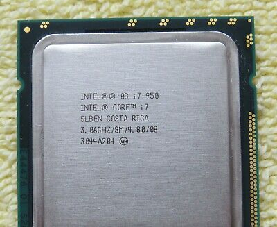 $ CDN25 • Buy Intel Core I7-950 3.06Ghz Quad Core CPU For LGA 1366