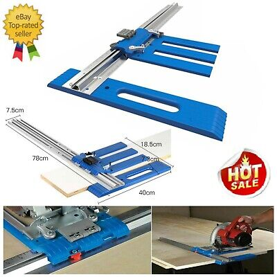 £36.99 • Buy Circular Saw Guide System Accurate Cut Track Rail Wide Edge Cutting ElectricTool