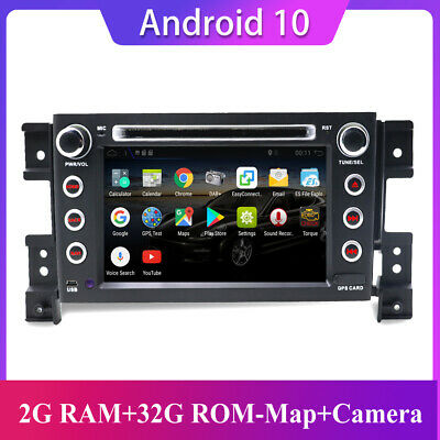 AU297 • Buy 7'' For Suzuki Grand Vitara Android 10.0 Double 2 DIN GPS Car Stereo Head Unit